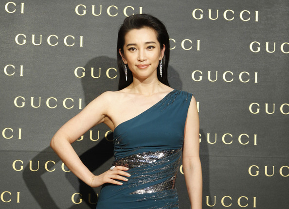 Li Bingbing Gucci Flagship Store Opening
