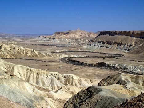 Zin Valley The Negev