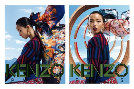 Kenzo Accessories Fall 2012 Campaign