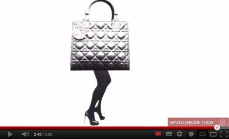 Lady Dior Web Documentary 360 Bag