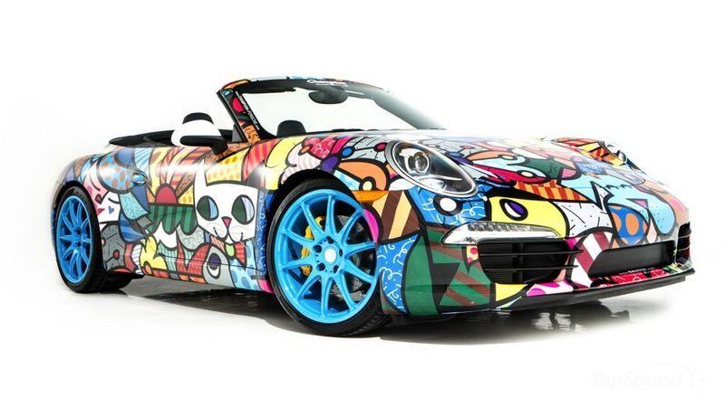 Porsche 911 By Romero Britto For Art Basel