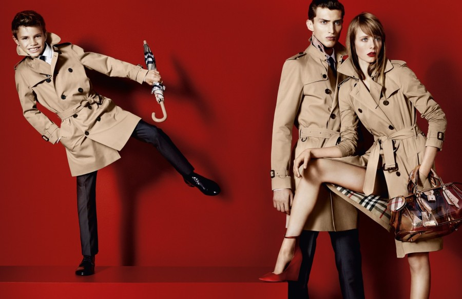 0ea4cf70ed5d Romeo Beckham is the new face of Burberry