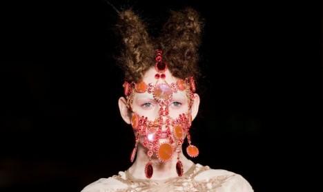 jewelled head-piece by Lara Jensen