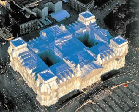 wrapping the reichstag