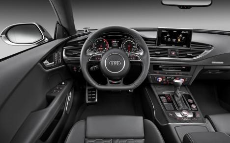 2014 Audi RS 7 Sportback cockpit