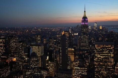 new york city skyline 2012