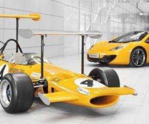 yellow McLaren cars