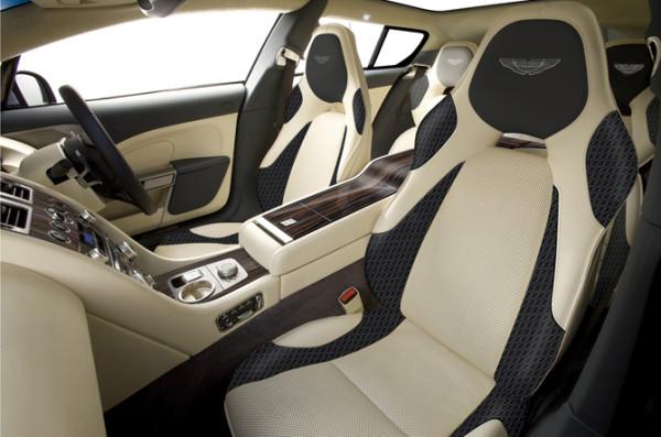 Aston Martin Rapide shooting brake interior