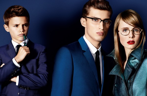 Burberry Spring 2013 eyewear campaign