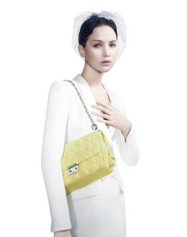 Jennifer Lawrence Miss Dior handbags campaign