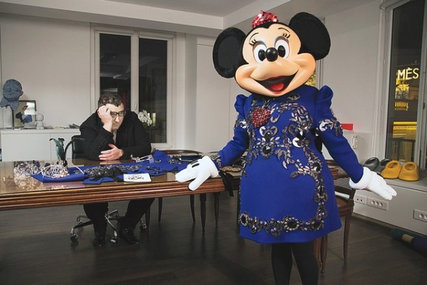 Minnie Mouse in Lanvin