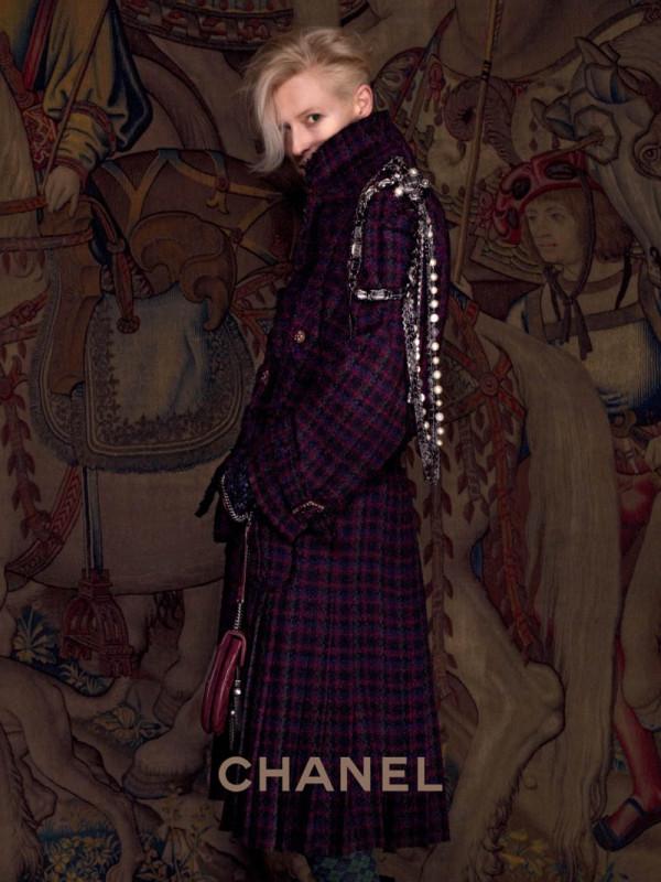 Tilda Swinton Chanel campaign
