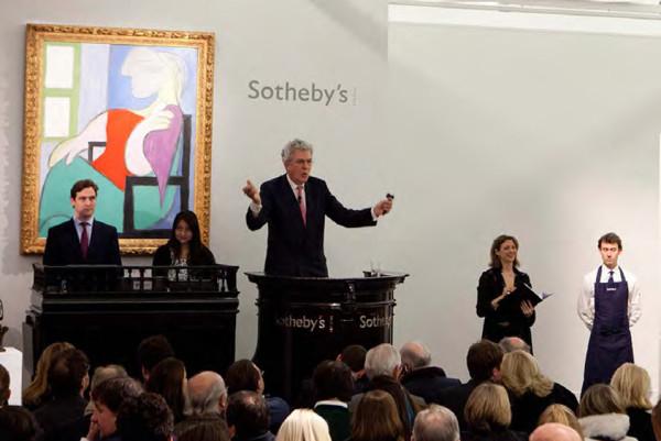 picasso auction sothebys