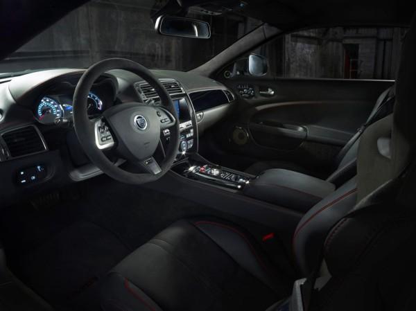 2014 Jaguar XKR-S GT interior