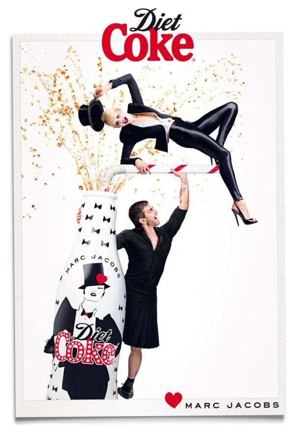 Marc Jacobs Diet Coke Ad Campaign