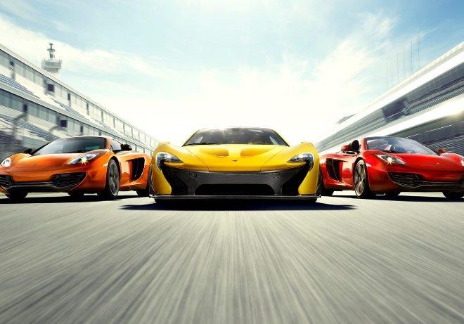 McLaren range