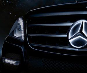 Mercedes Illuminated Star Grille