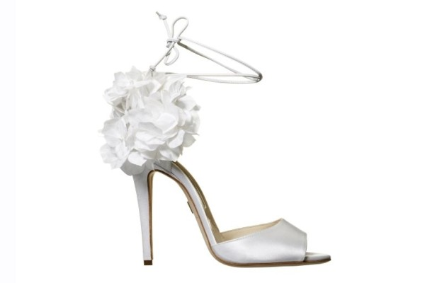 Aurora bridal shoe by Brian Atwood