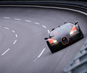 Bugatti Veyron speed record