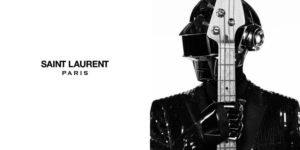 Daft Punk Stars in Saint Laurent Ads