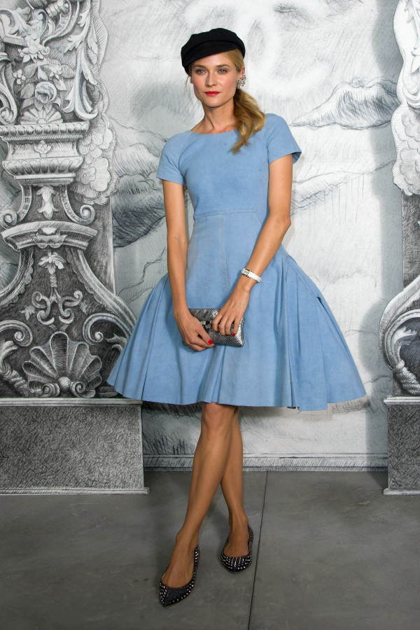 Diane Kruger in Chanel Resort 2013