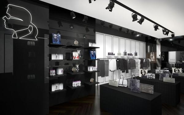 Karl Lagerfeld store Amsterdam