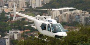 Sao Paulo rich use choppers to beat traffic jams