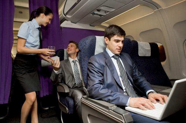 Flight Attendant business class