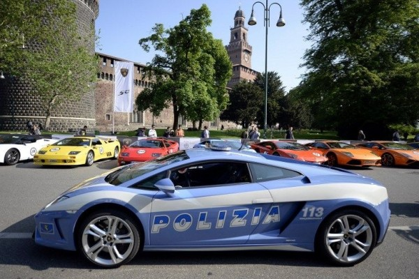 Lamborghini tour of Italy