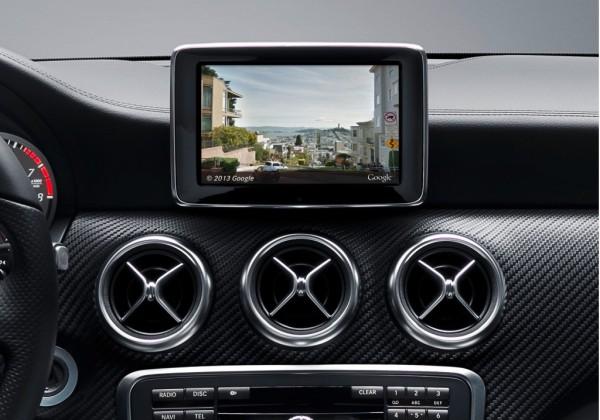 Mercedes Google Map integration