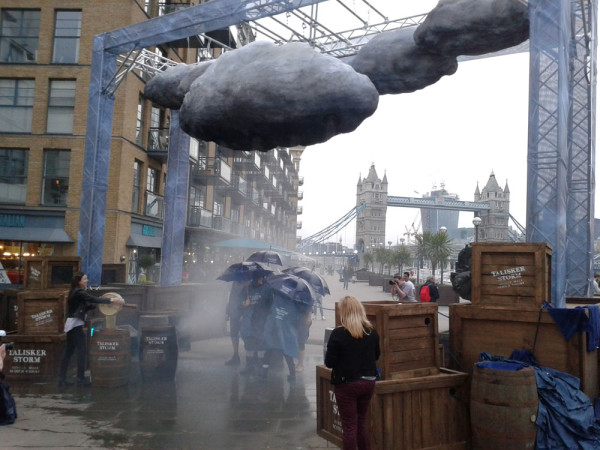 interactive storm machine london