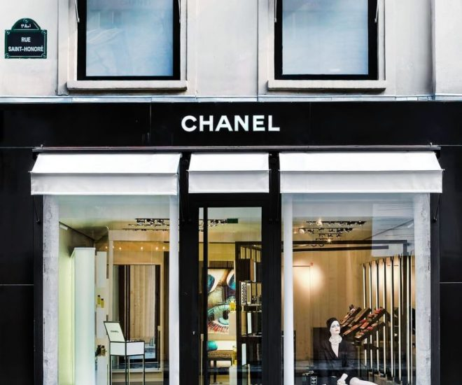 Chanel store 382 rue St Honore
