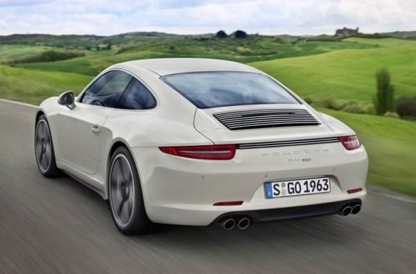Porsche 911 50 years edition back