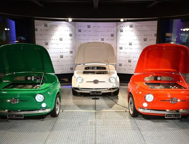 Smeg X Fiat 500 Mini Fridge