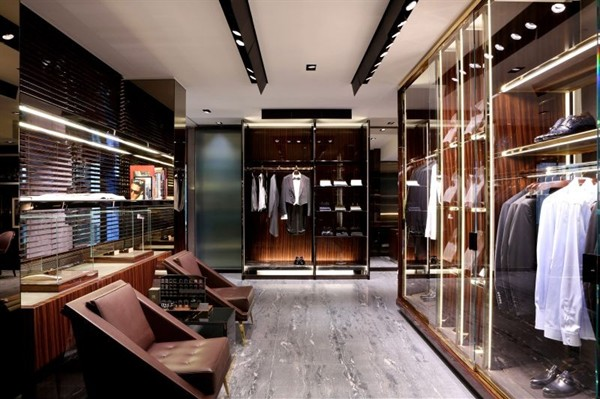 Gucci men flagship store Milan
