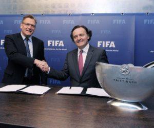 Champagne Taittinger Fifa