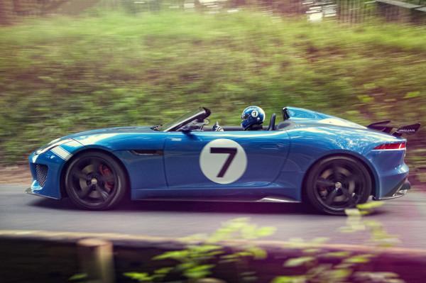 Jaguar Project 7 concept car