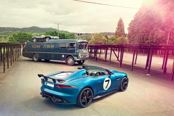Jaguar Project7 concept car
