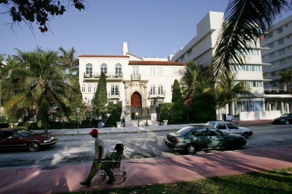 Versace luxury villa miami
