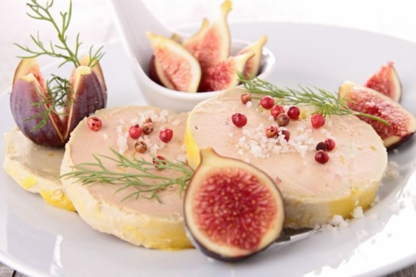 foie gras and figs