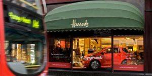 Aston Martin Cygnet Makes Debut at Harrods
