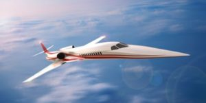 First Supersonic Private Jet