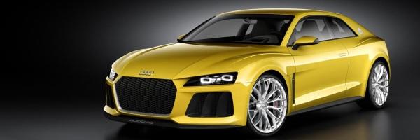Audi Quattro Concept frontal