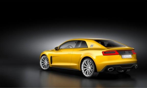 Audi Sport Quattro concept back