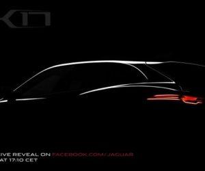 Jaguar C-X17 concept study
