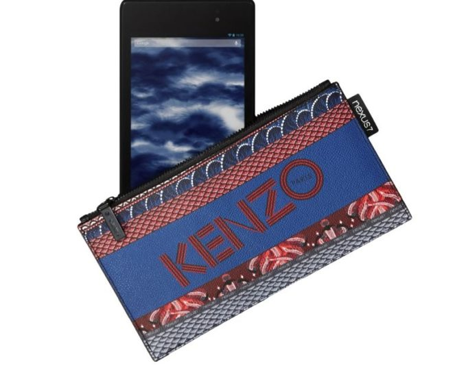 Kenzo pouch for Google Nexus 7 tablet