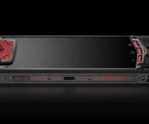 Vertu Ti Ferrari smartphone