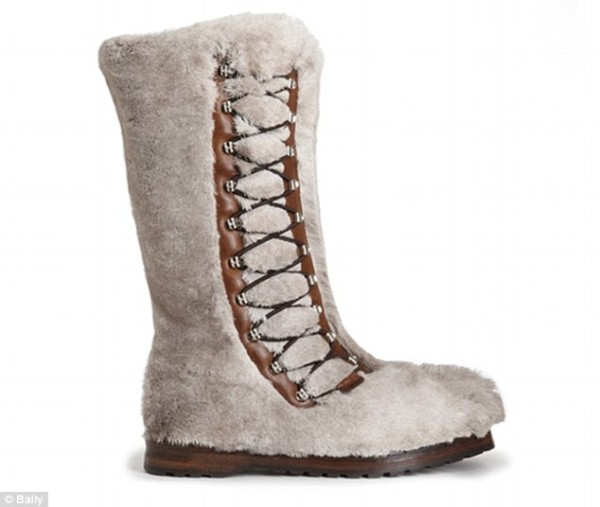 Bally Himalaya fur boot