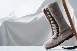 Bally fur boot