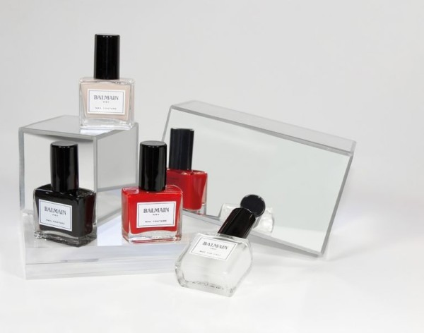 Balmain Nail Couture collection